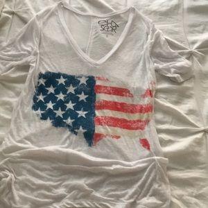 Chaser America Flag Tee